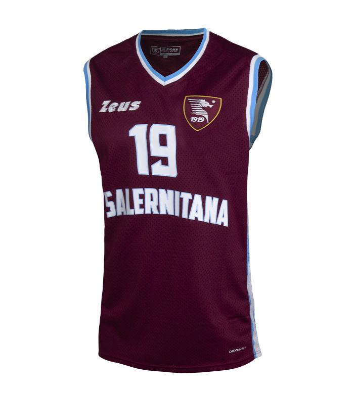 Canotta Basket Salernitana 2019/20 Zeus ZEUS | 681207635 | CANOTTAGRANATA