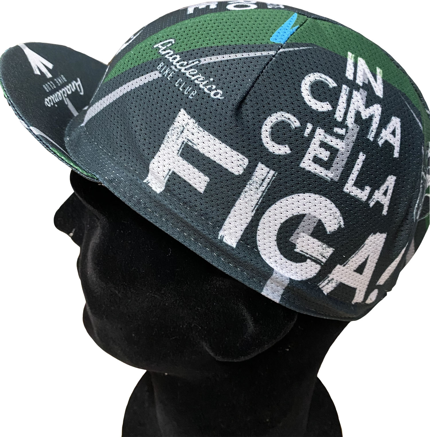 Cycling Cap ABC Anaclerico Sports IN CIMA C