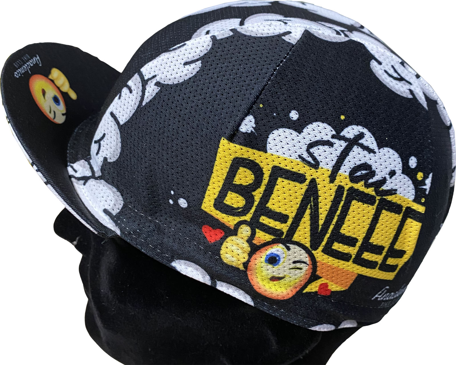 Cycling Cap ABC Anaclerico Sports STAI BENEEE ABC ANACLERICO SPORT BYKE CLUB | 270000046 | STAIBENEEEE-