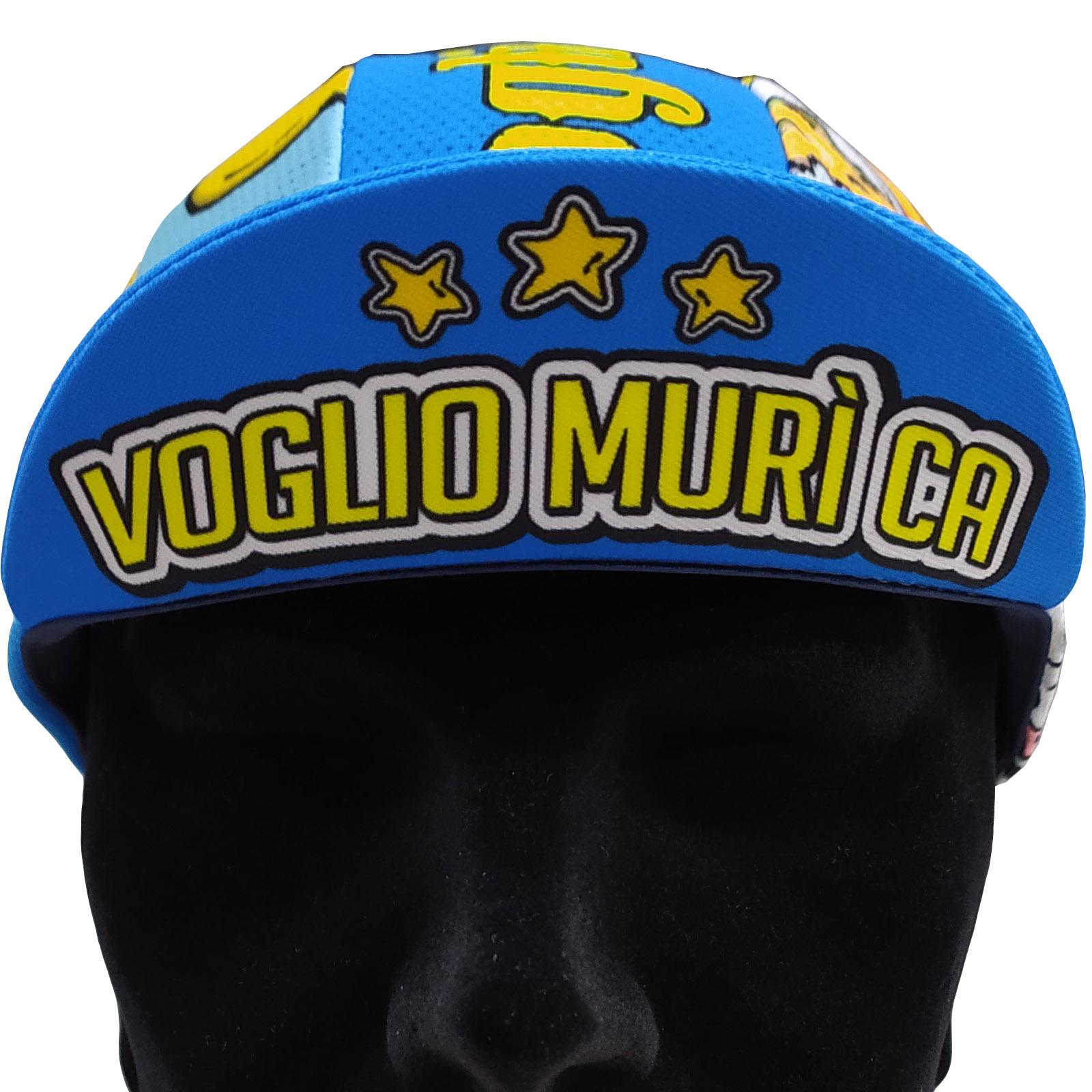 Cycling Cap ABC Anaclerico Sports VOGLIO MURI