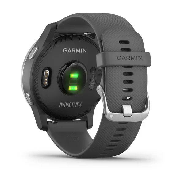Garmin Vivoactive 4 Shadow Grey Silver GARMIN   270000069   010-02174-02-