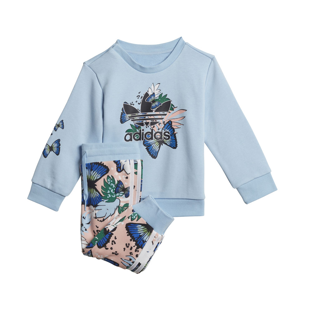 Completo da neonato adidas HER Studio London Animal Flower Print Crew ADIDAS ORIGINALS   270000019   H22604-