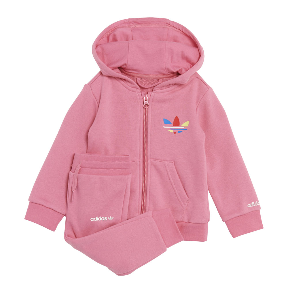 Tuta da neonato Adidas Adicolor Full-zip Hoodie ADIDAS ORIGINALS   270000019   H25230-