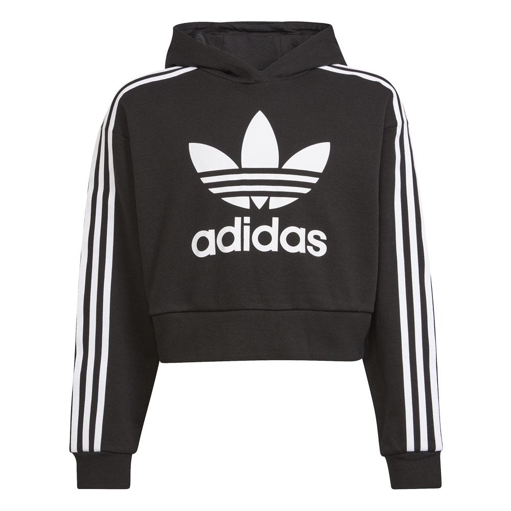Felpa Bambino/Ragazzo Adidas Hoodie Adicolor Cropped ADIDAS ORIGINALS   92   H32337-