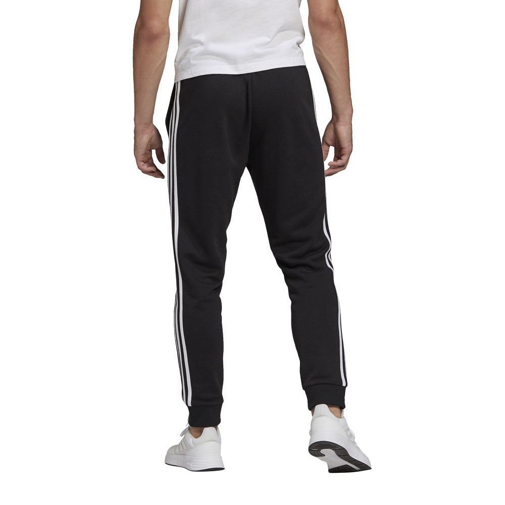 Pantaloni Adidas Essentials Fleece Tapered Cuff 3-Stripes ADIDAS PERFORMANCE   115   GK8831-