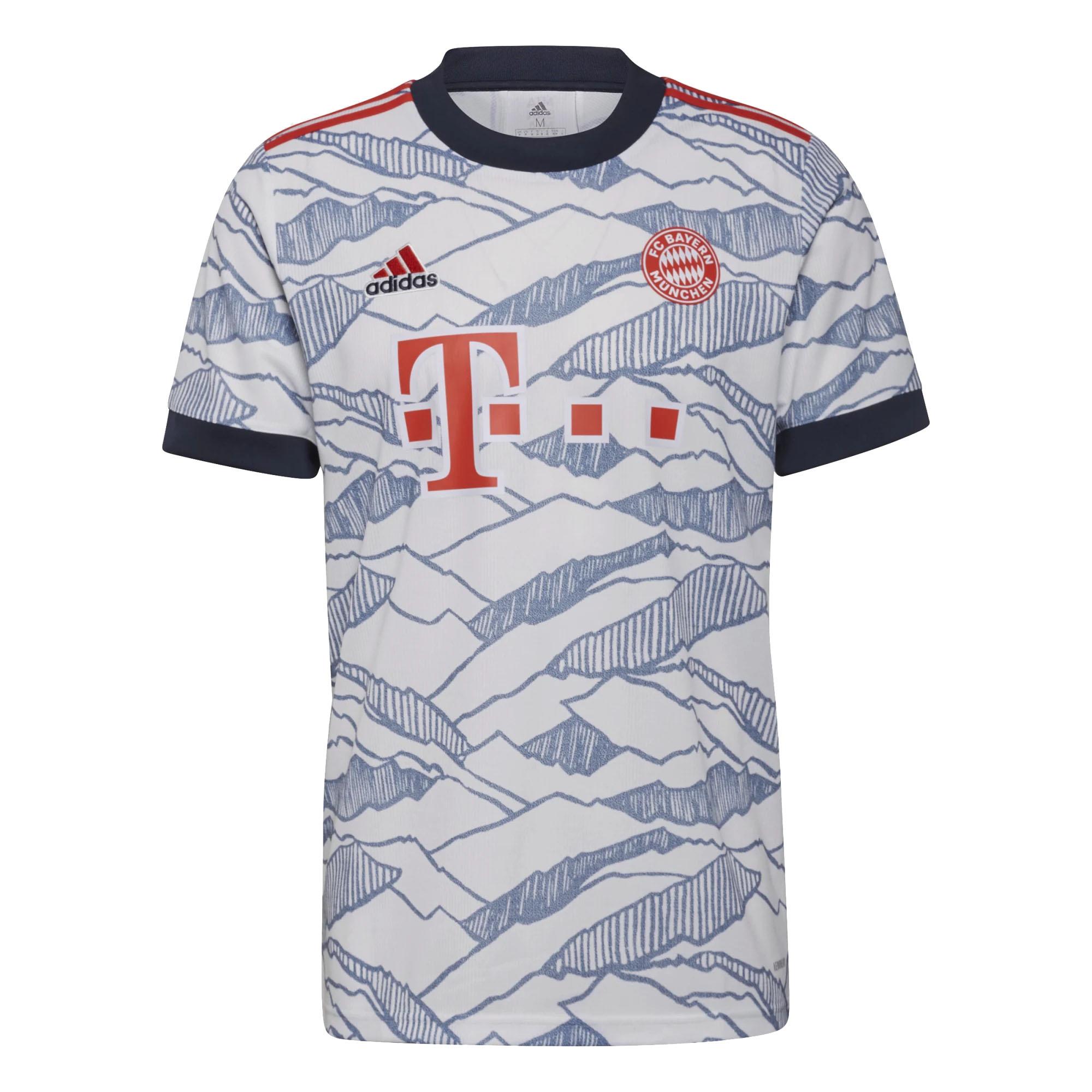 Maglia Bayern Monaco Third 2021/22 Adidas ADIDAS PERFORMANCE   270000021   GM5315-