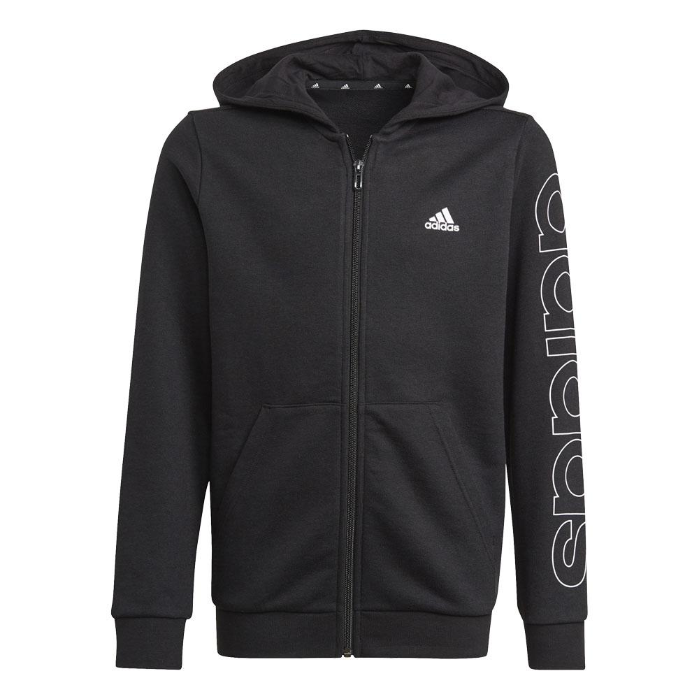 Felpa da bambino/ragazzo Adidas Linear Essential Full Zip ADIDAS PERFORMANCE | 92 | GN4041-