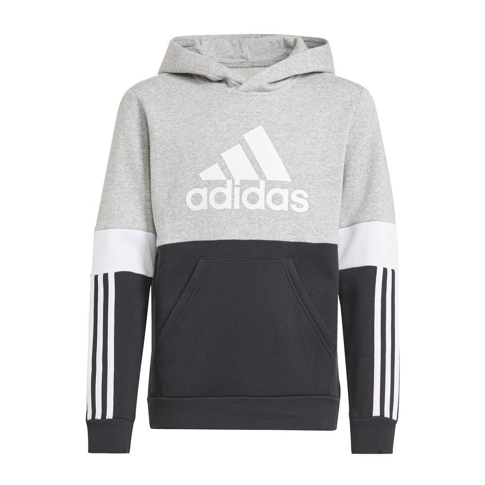 Felpa bambino/ragazzo Adidas con cappuccio Colorblock ADIDAS PERFORMANCE   92   GS8883-