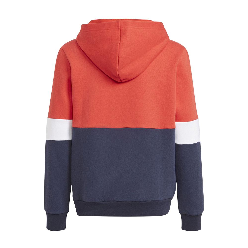 Felpa bambino/ragazzo Adidas con cappuccio Colorblock ADIDAS PERFORMANCE | 92 | GS8884-