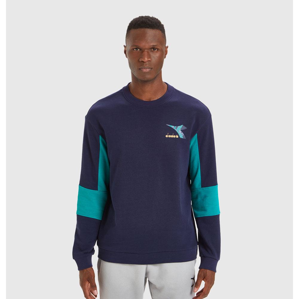 Felpa Diadora Sweatshirt Crew Shield DIADORA T3   92   17774660062