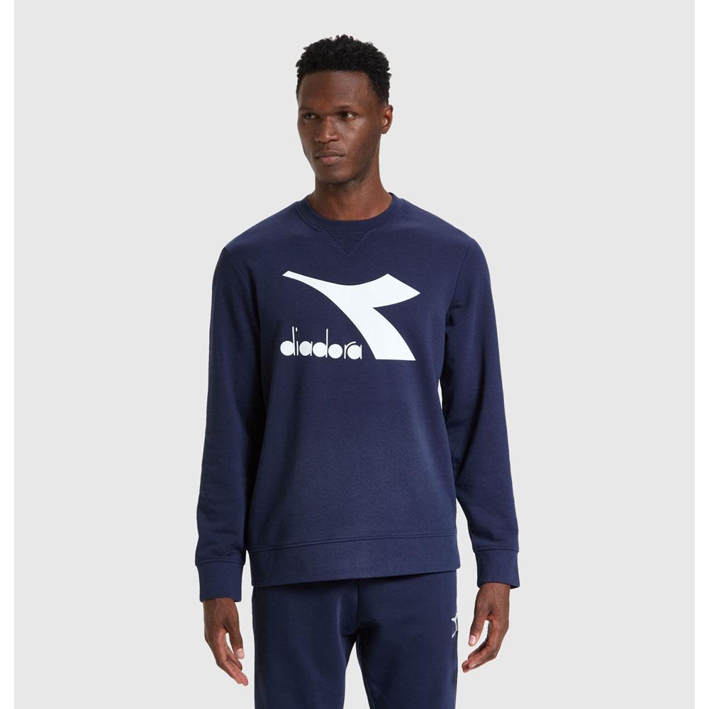Felpa Diadora Sweatshirt Crew Logo Chromia DIADORA T3   92   17776460062