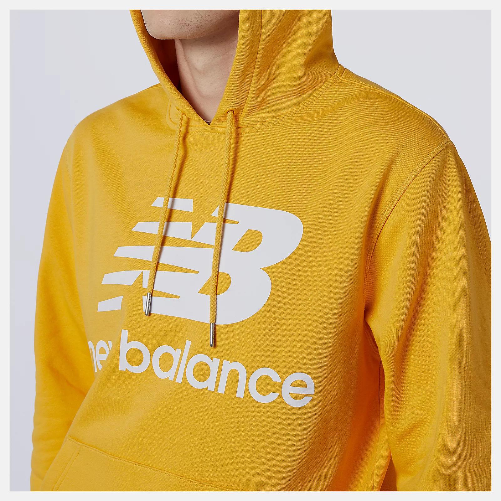 Felpa New Balance Essentials Stacked Logo Po Hoodie NEW BALANCE | 92 | MT03558ASE