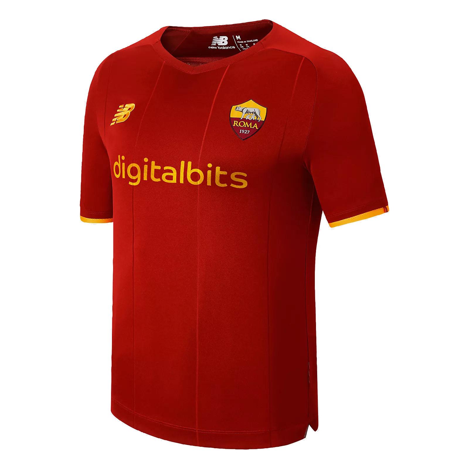 Maglia AS Roma 2021/22 New Balance NEW BALANCE   270000021   MT130210HME