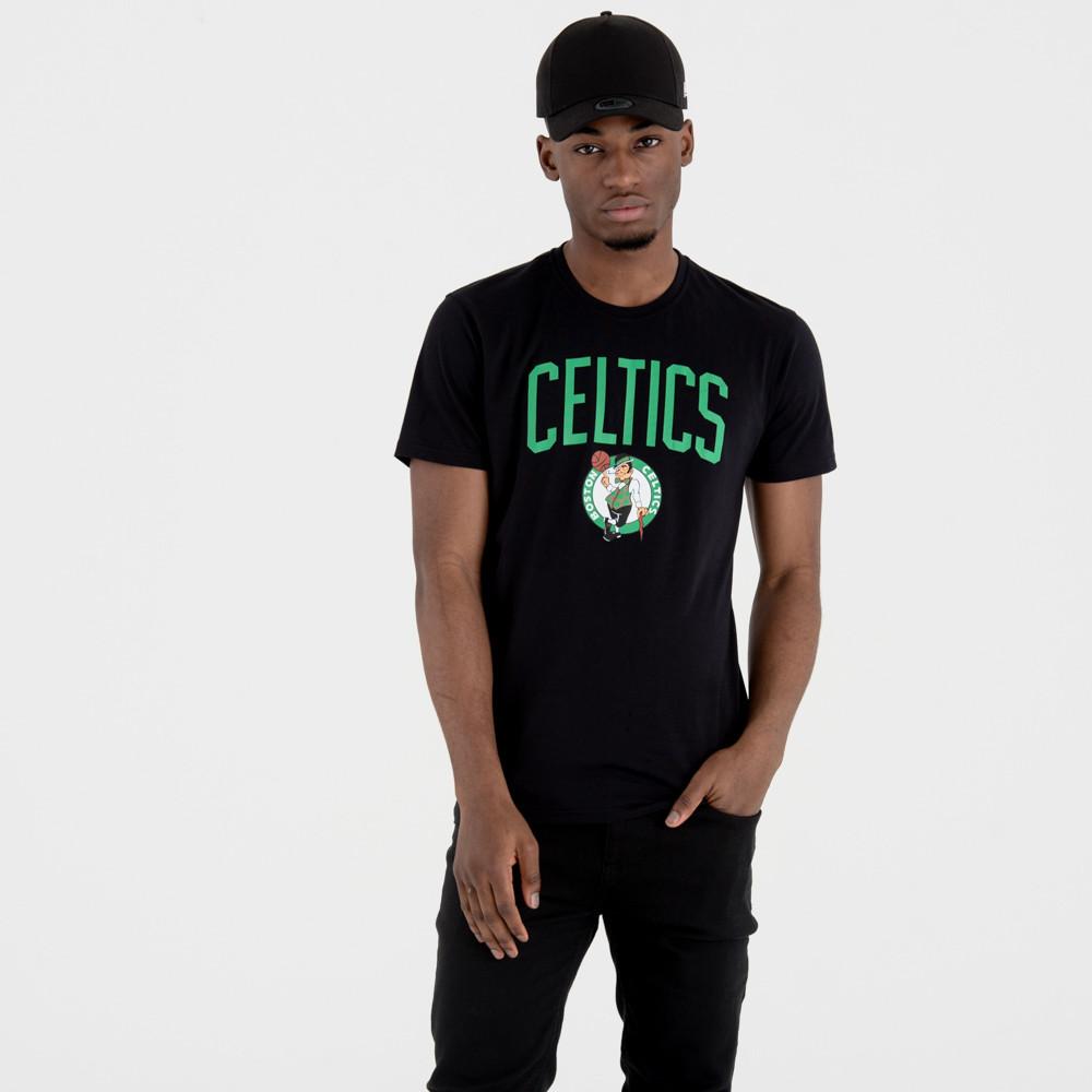 Maglia Boston Celtics Team Logo New Era NEW ERA | -89515098 | 11546157BLK