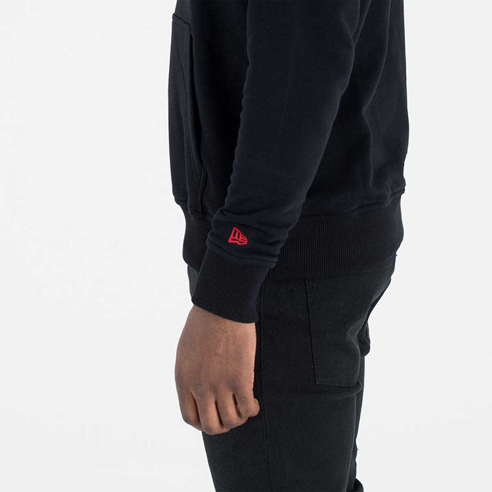 Felpa New Era con Cappuccio con Logo della Squadra Di Portland Trail Blazer NEW ERA | 92 | 11546164BLK