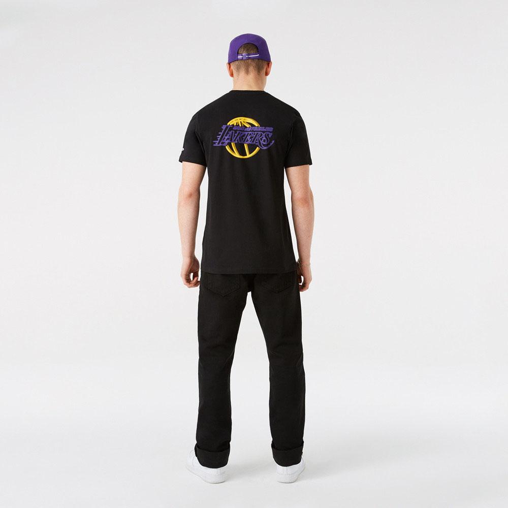 Maglia LA Lakers NBA Neon New Era NEW ERA   -89515098   12827210BLK