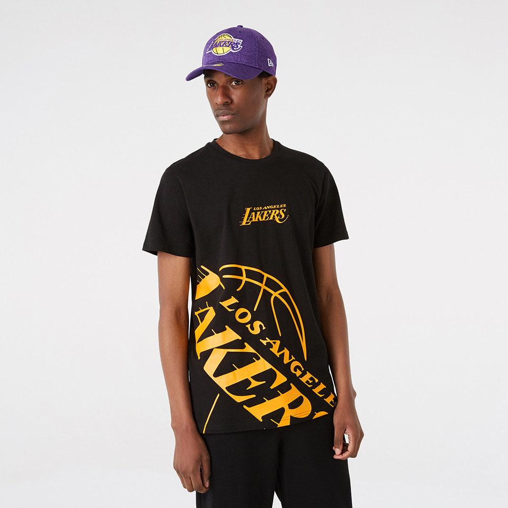 Maglia LA Lakers NBA Enlarged Logo New Era NEW ERA | -89515098 | 12827219BLK
