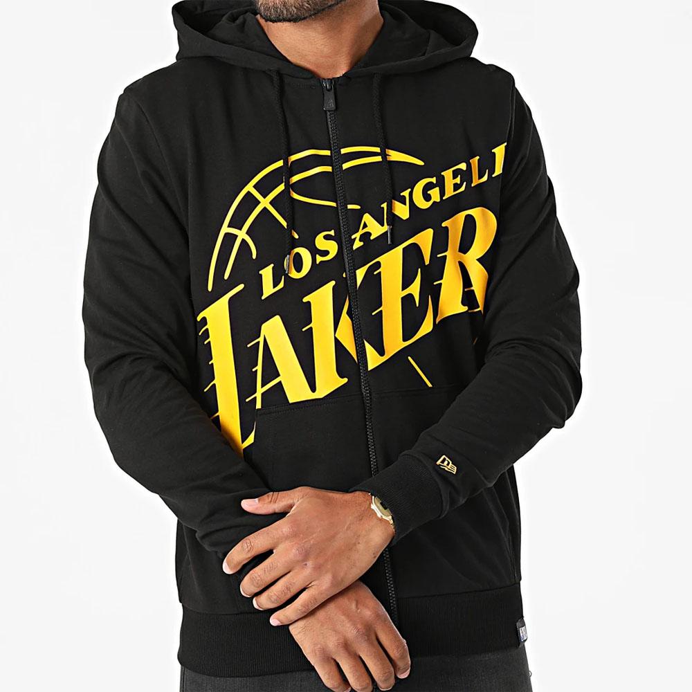 Felpa New Era con cappuccio  La Lakers Logo NEW ERA   92   12827222BLK