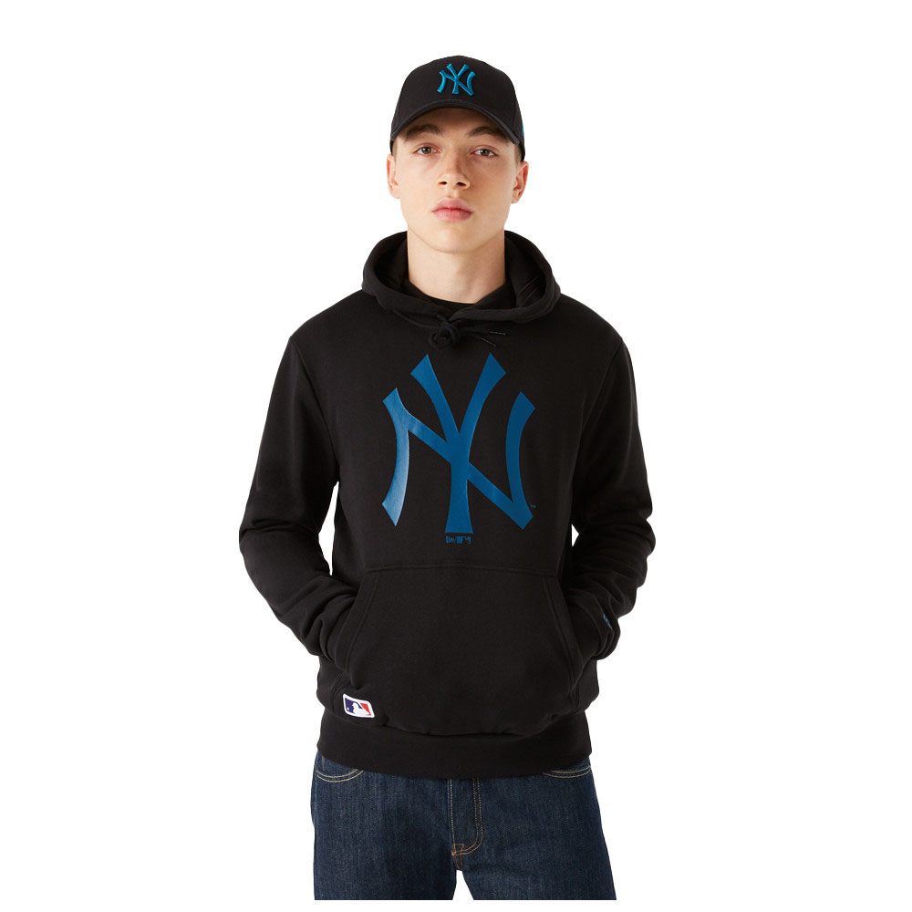 Felpa New Era New York Yankees Team Logo NEW ERA   92   12827236BLKCDT
