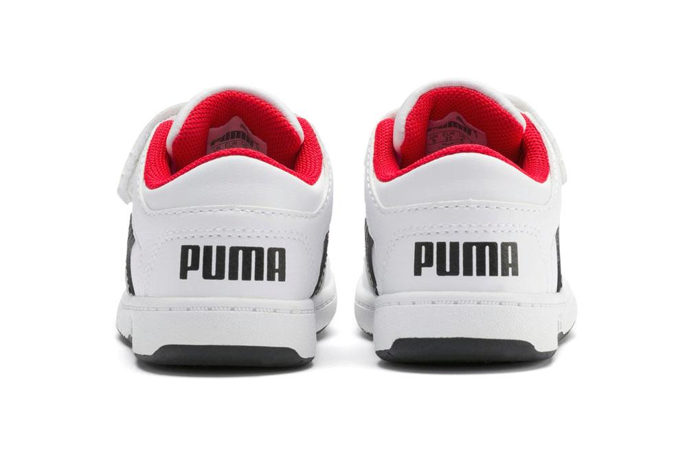 Puma Rebound Layup Lo SL V Bimbi Piccoli PUMA | 270000016 | 370493001