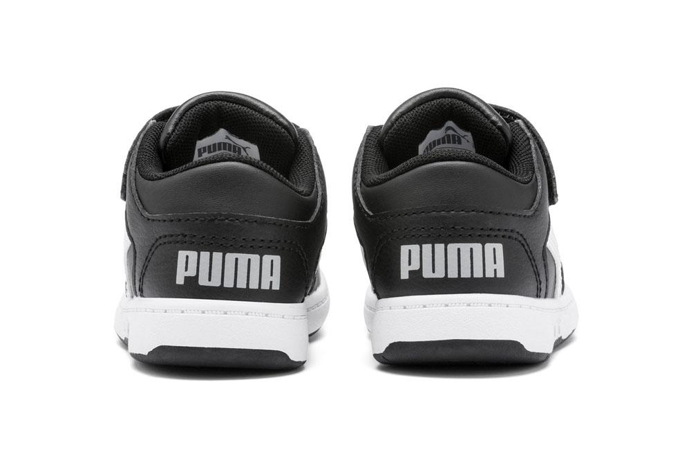 Puma Rebound Layup Lo SL V Bimbi Piccoli PUMA   270000016   370493002