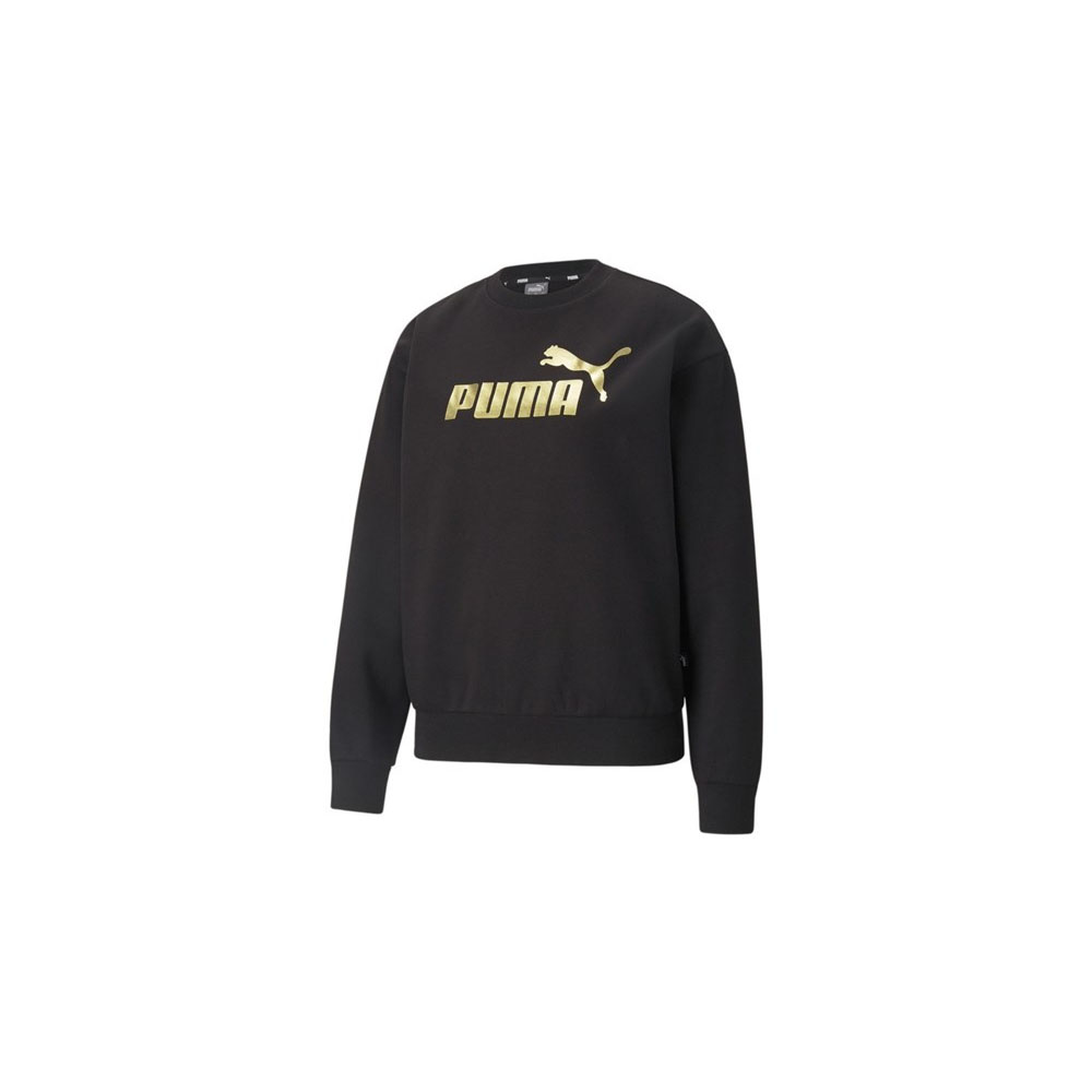 Felpa Puma donna Metallizzata Essentials PUMA   92   586893001