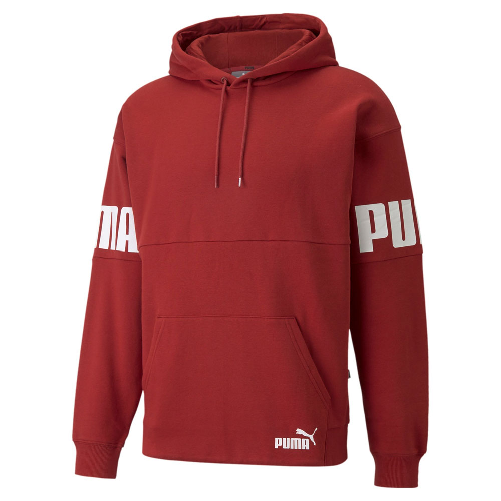 Felpa Puma Power Colorblock Hoodie PUMA   92   846103022