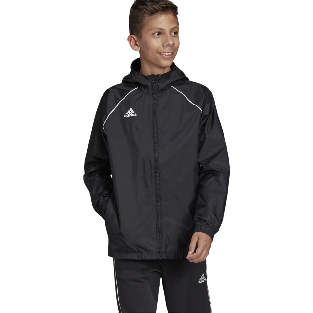 Giacca idrorepellente da bambino/ragazzi Adidas Core 18 ADIDAS TEAMSPORT | 391095581 | CE9047-