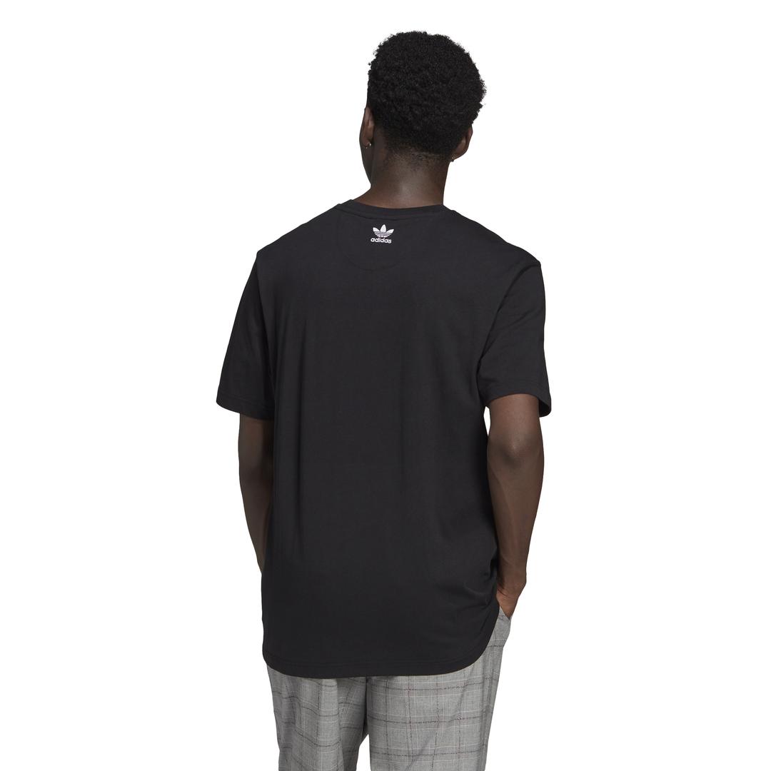 T-Shirt Loungewear Adicolor 3D Trefoil ADIDAS ORIGINALS | -89515098 | GN3548-