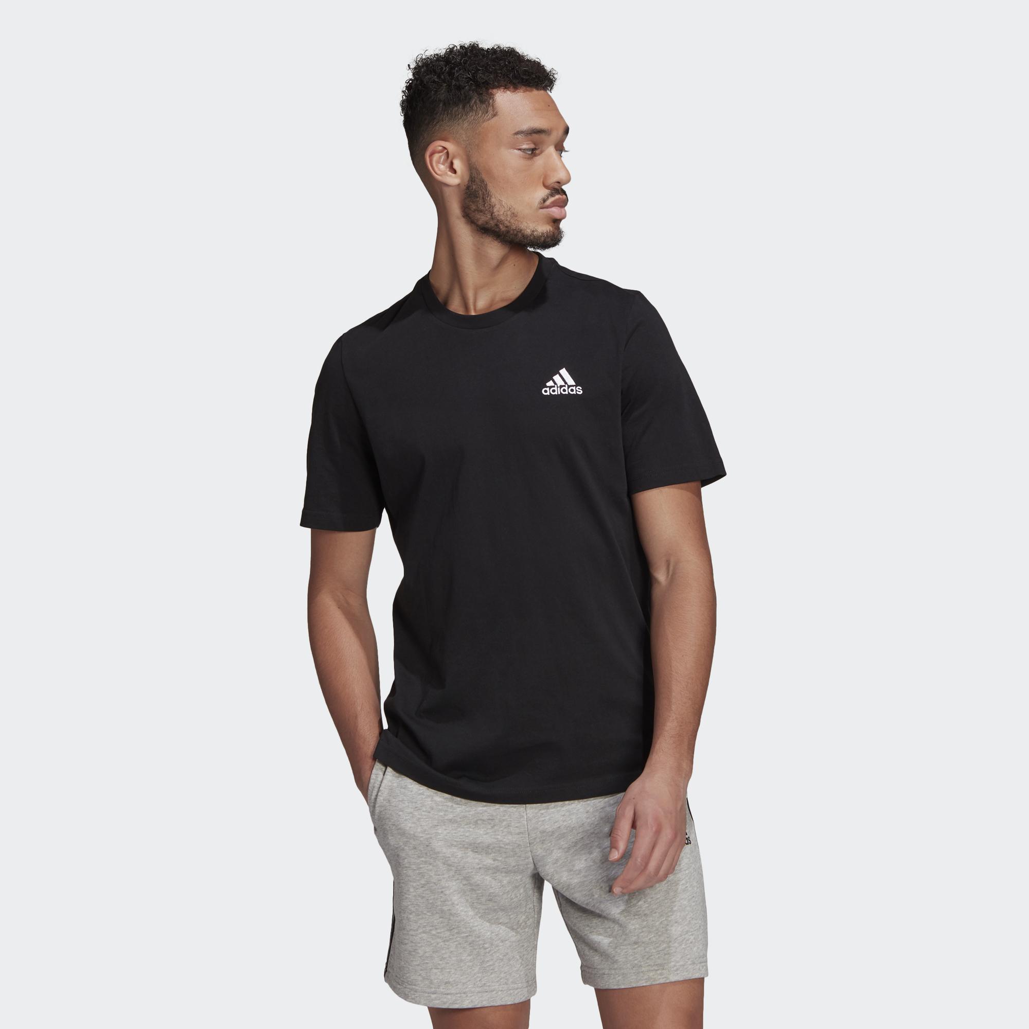 T-shirt adidas Essentials Embroidered Small Logo ADIDAS PERFORMANCE | -89515098 | GK9639-