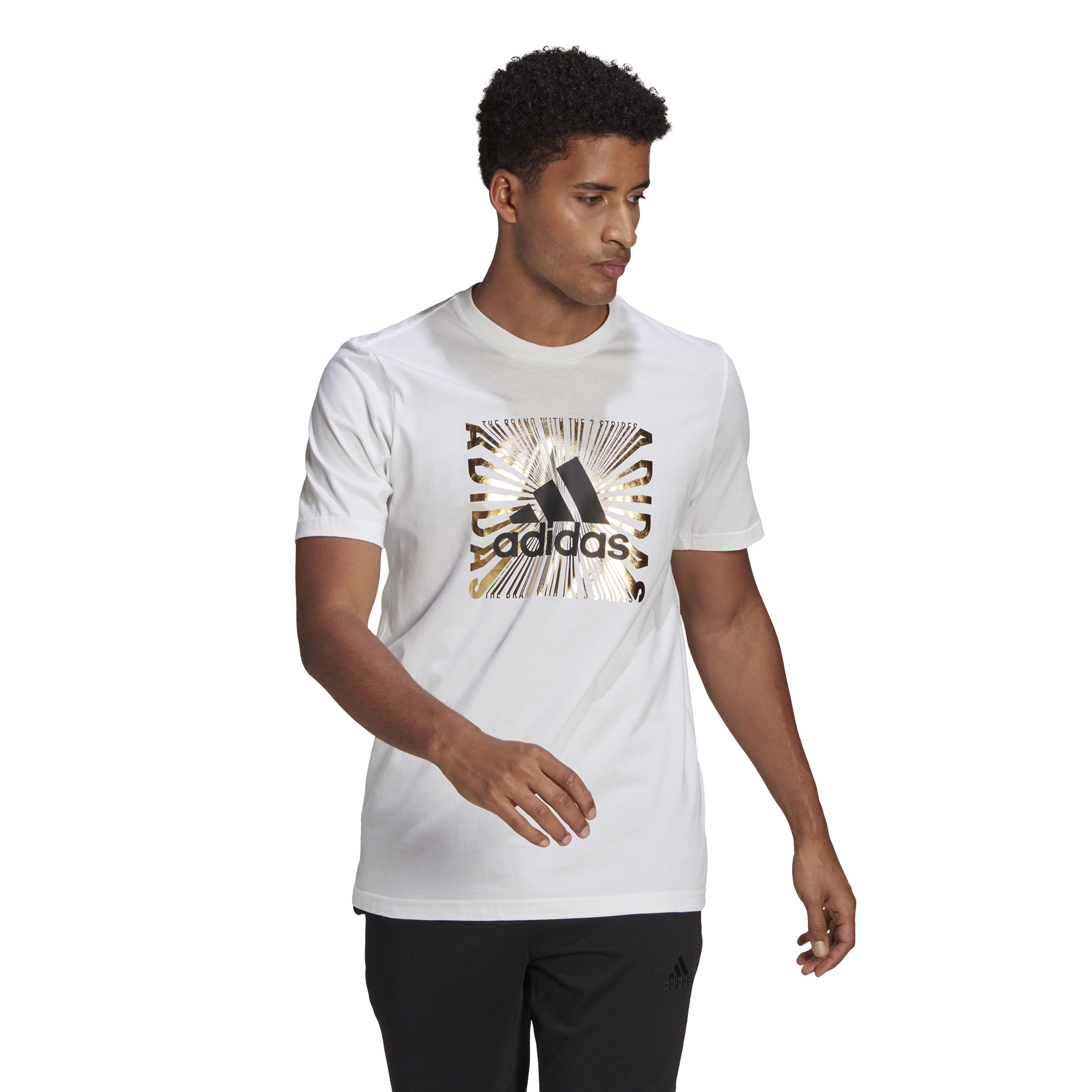 T-shirt adidas Extrusion Motion Foil Graphic ADIDAS PERFORMANCE | -89515098 | GL2392-