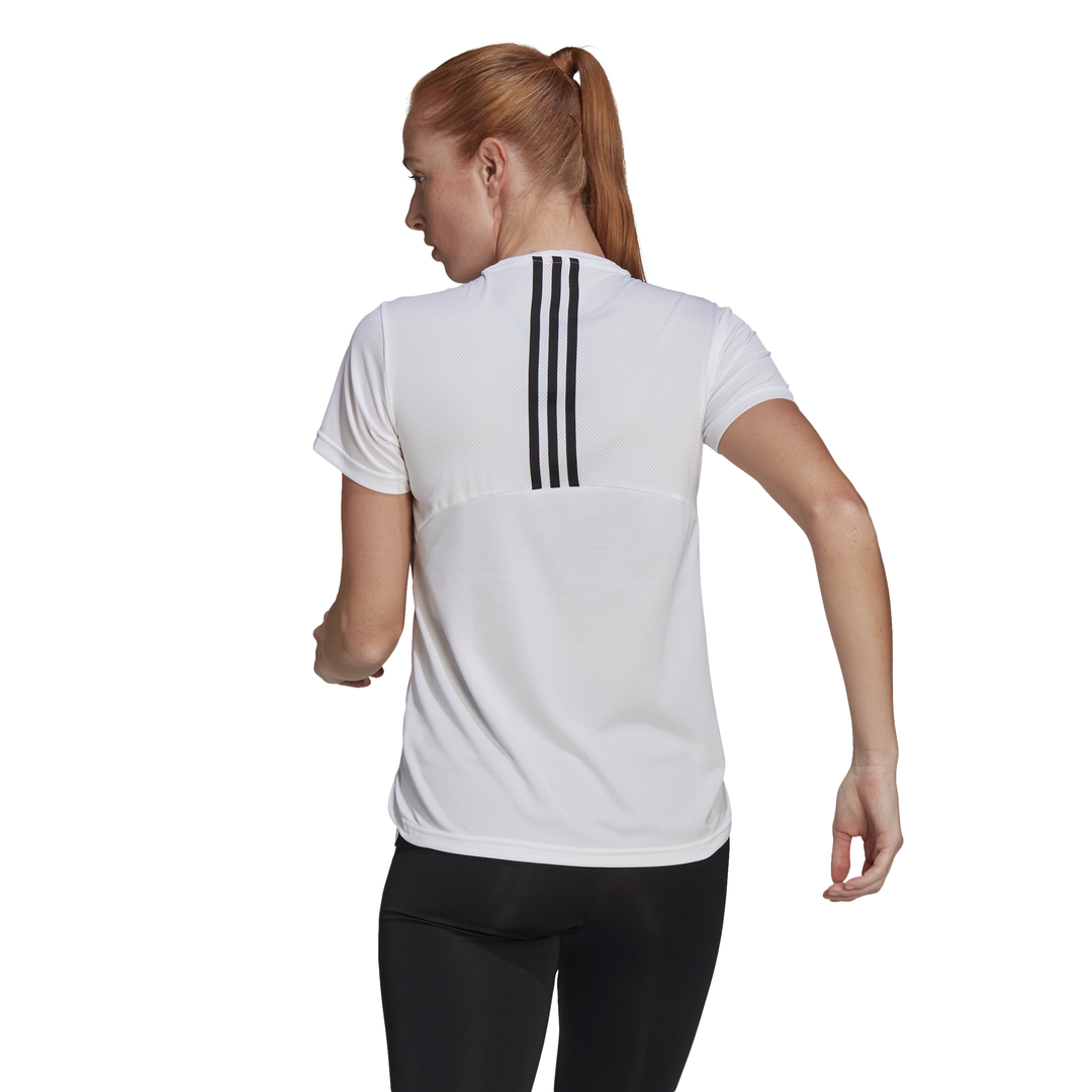 T-shirt AEROREADY Designed 2 Move 3-Stripes Sport ADIDAS PERFORMANCE   -89515098   GL3812-