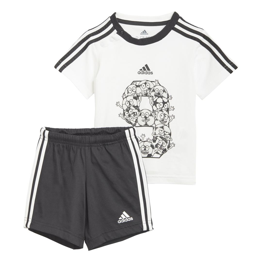 Completo per Neonati Adidas Lil 3-Stripes Sporty ADIDAS PERFORMANCE   270000019   GM8966-