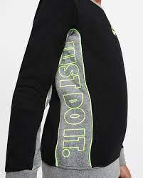 Felpa Bambino Nike Color Block Crew NIKE SG | 92 | 86H469023