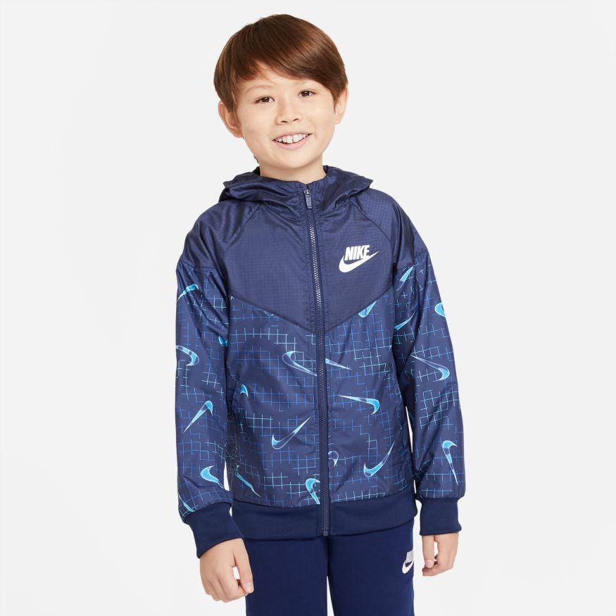 Giubbino da bambino/ragazzo Nike Sportswear Windrunner RTLP NIKE SG   391095581   DA0758492