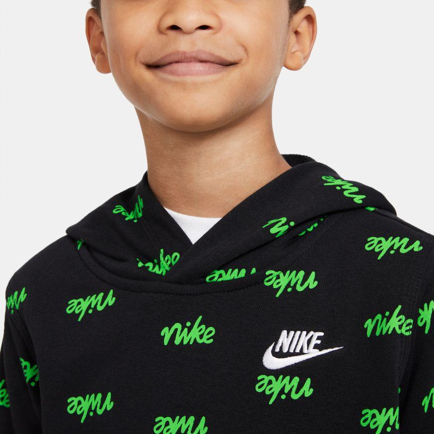 Felpa da bambino/ragazzo Nike Sportswear Script NIKE SG   92   DB3257010