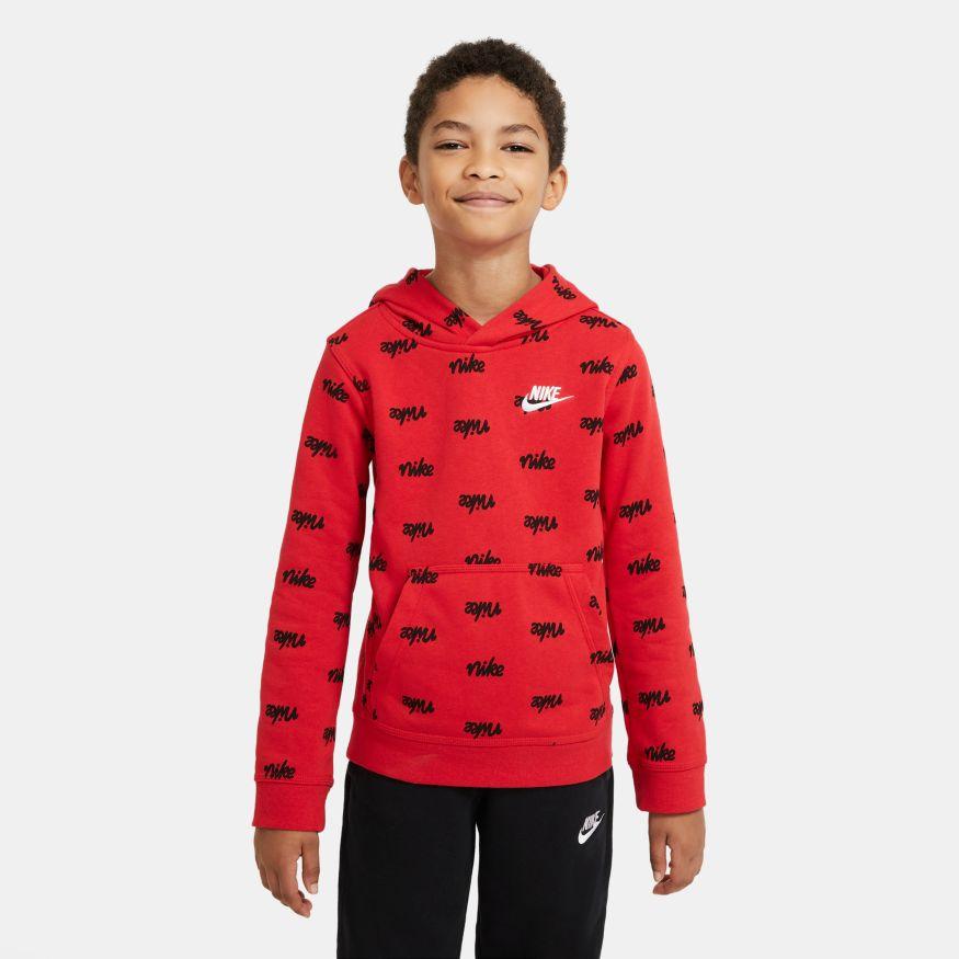 Felpa da bambino/ragazzo Nike Sportswear Script NIKE SG   92   DB3257657