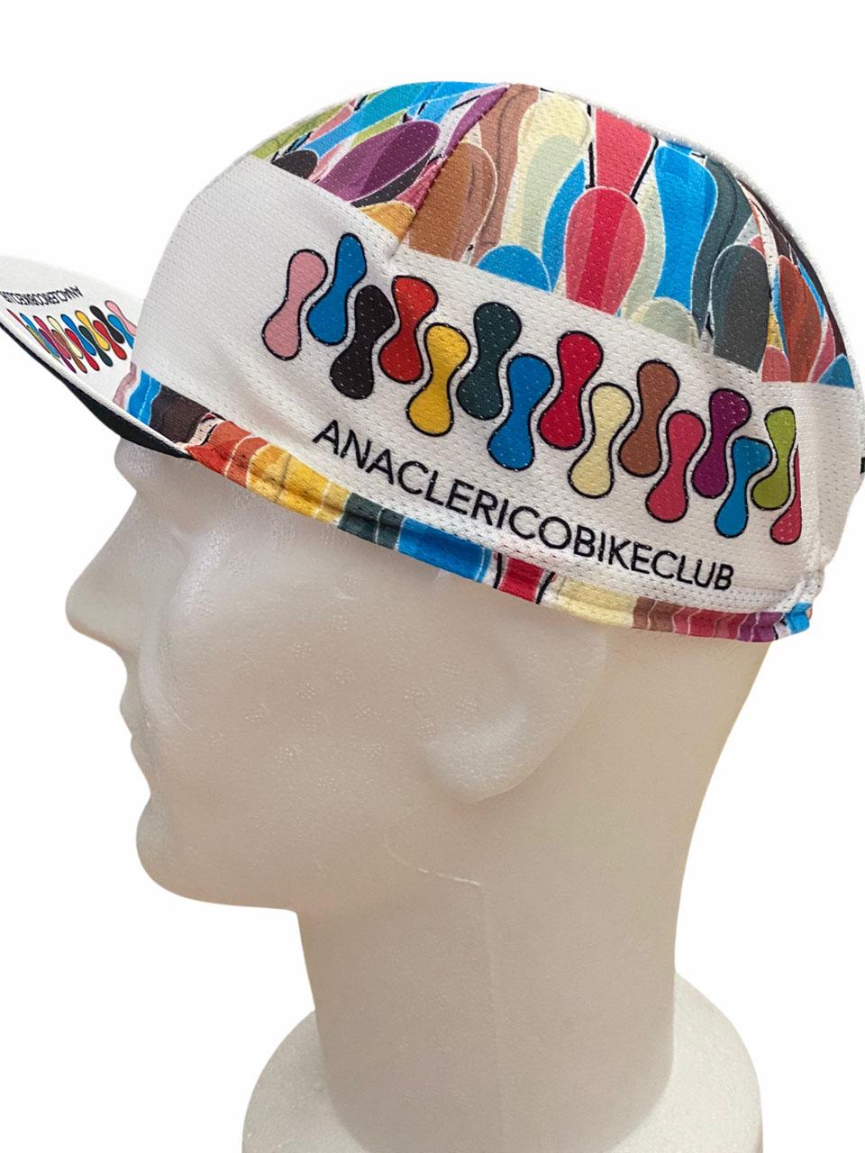 Cycling Cap ABC Anaclerico Sports ABC 2021 ABC ANACLERICO SPORT BYKE CLUB | 270000046 | ABCAP2021-