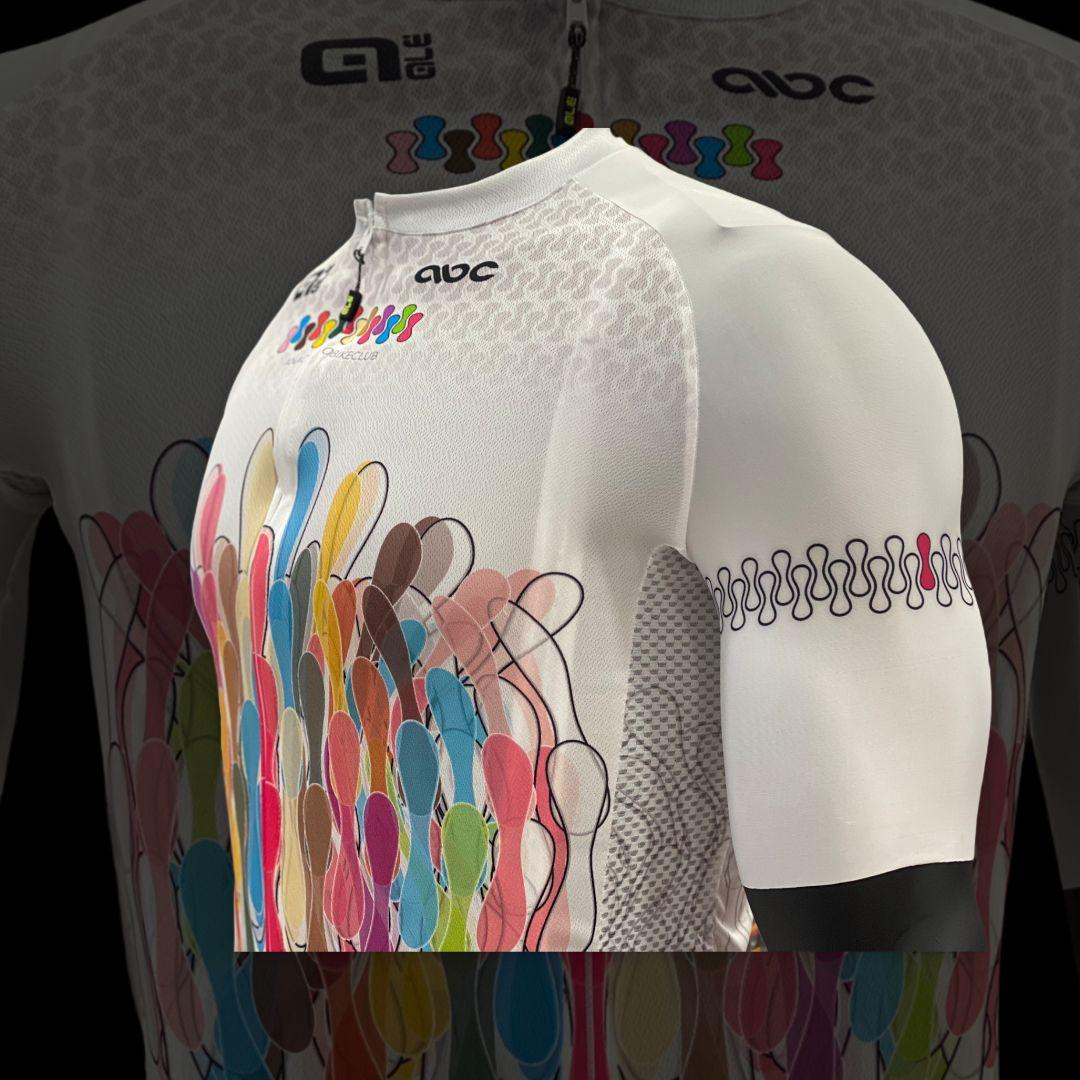 Completo da Ciclismo Alè ABC Chain White ABC ANACLERICO SPORT BYKE CLUB | 270000035 | CHAINSSWHITE