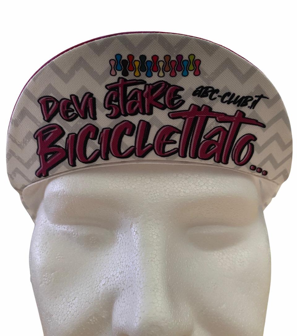 Cycling Cap ABC Anaclerico Sports BICLETTATO ABC ANACLERICO SPORT BYKE CLUB | 270000046 | DEVISTAREBICICLETTATO2021-