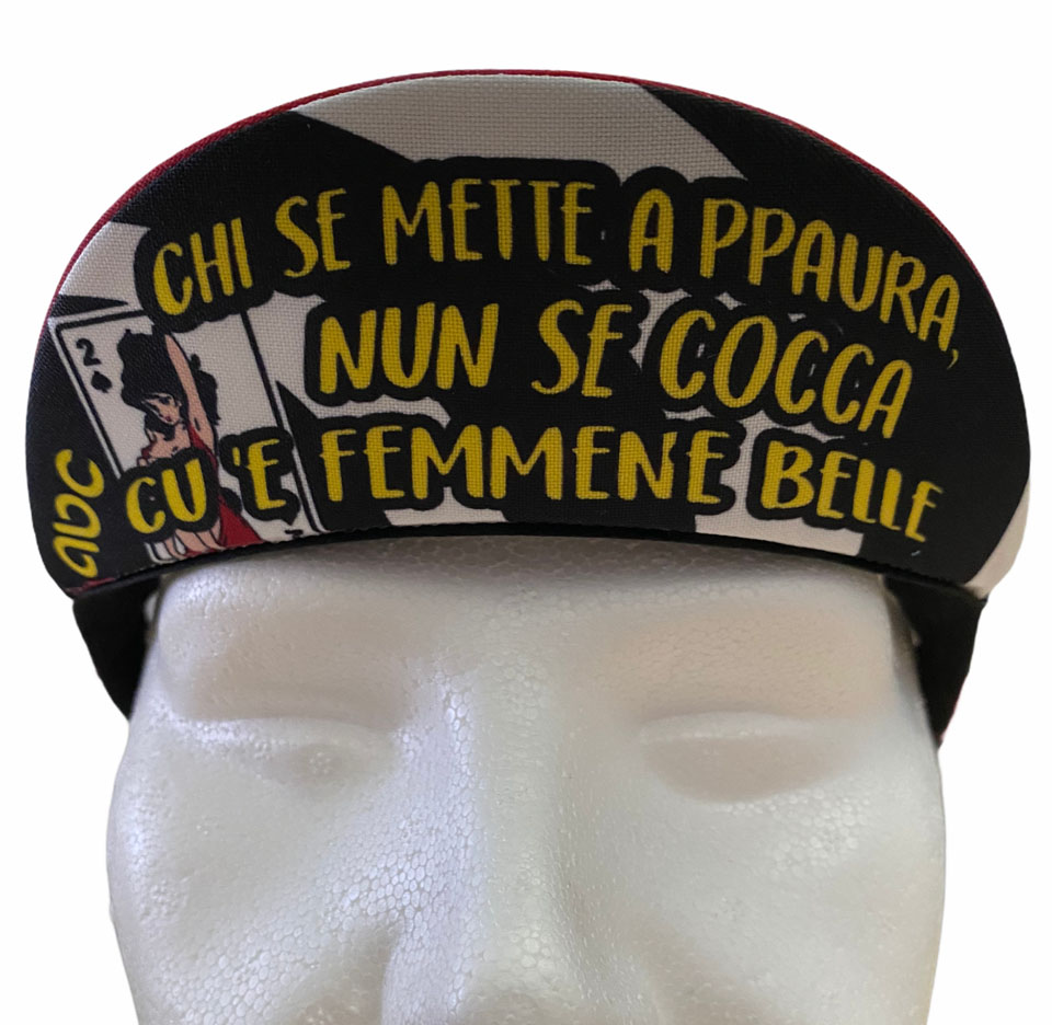 Cycling Cap ABC Anaclerico Sports FEMMN BELL ABC ANACLERICO SPORT BYKE CLUB   270000046   FEMMNBELL2021-