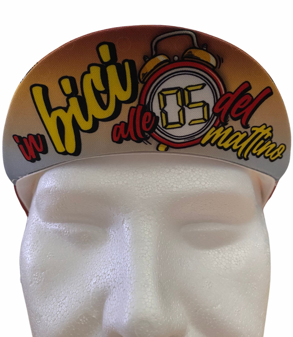 Cycling Cap ABC Anaclerico Sports IN BICI ALLE 5 ABC ANACLERICO SPORT BYKE CLUB | 270000046 | INBICIALLE52021-