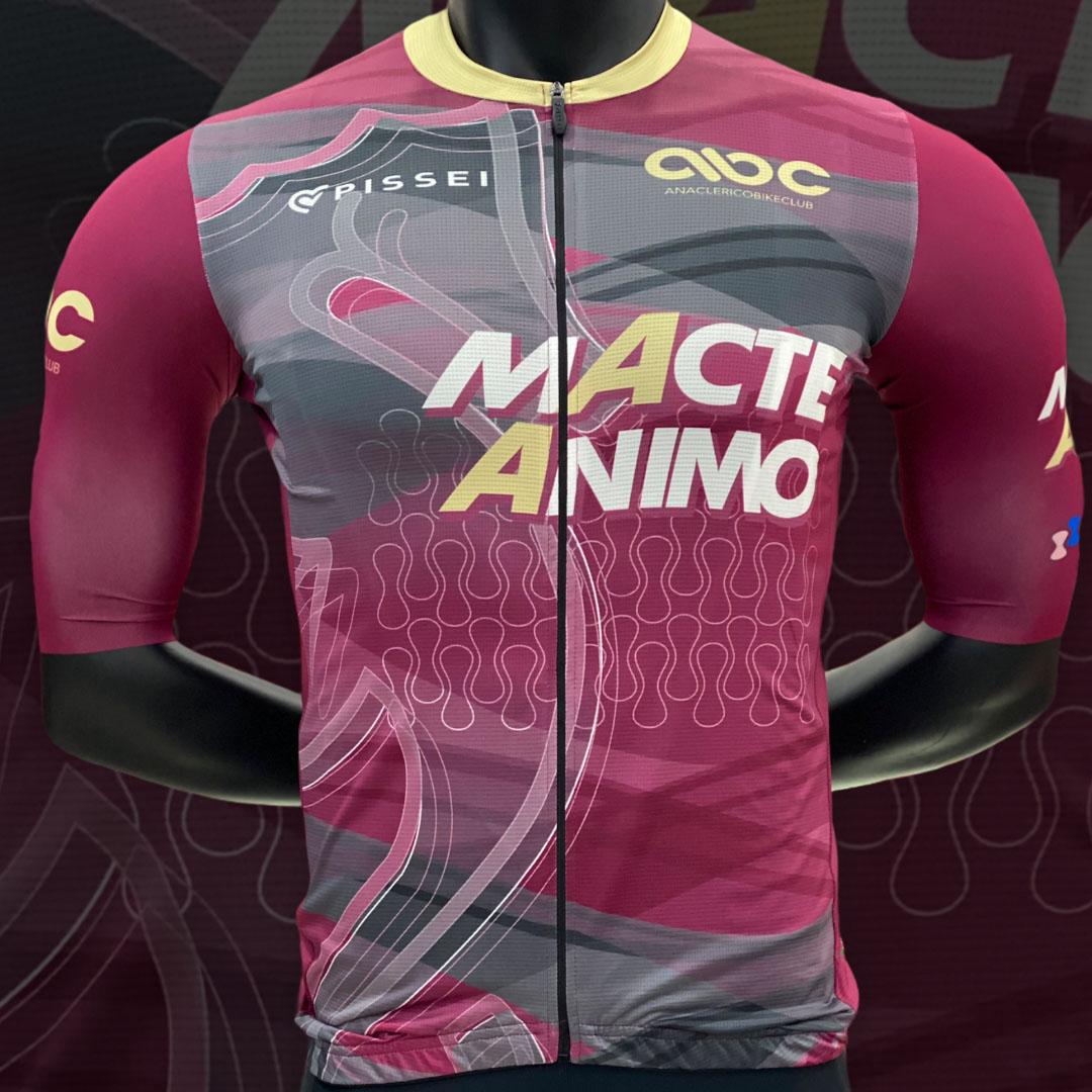 Completo da Ciclismo ABC Macte Animo Pissei ABC ANACLERICO SPORT BYKE CLUB | 270000035 | MACTEANIMOPISSEI-