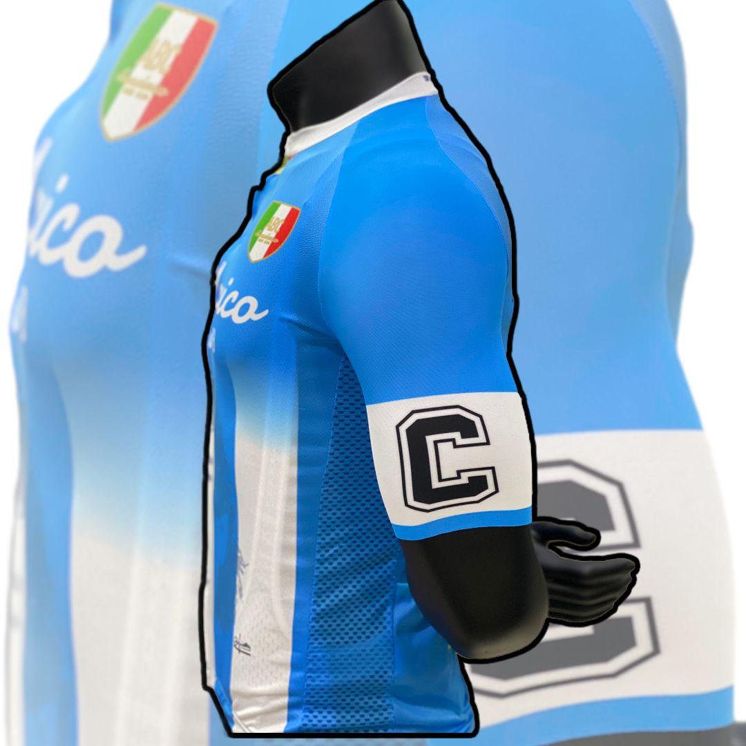 Maglia da Ciclismo ABC Anaclerico Sport Bike Club D10S - In bici per la T.I.N. ABC ANACLERICO SPORT BYKE CLUB | 270000045 | MARADONAALEMAGLIA-