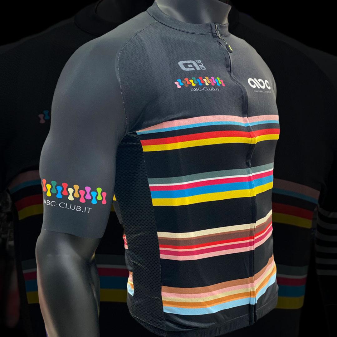 Completo da Ciclismo ABC Nero Stripes 21 Ale