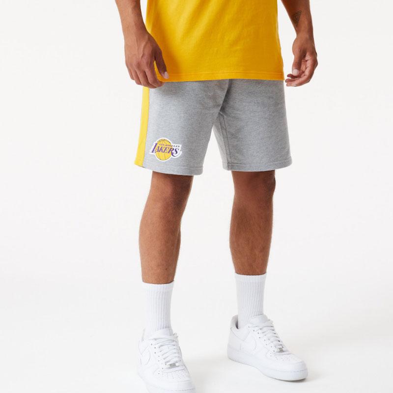 Pantaloncini LA Lakers Side Panel New Era NEW ERA | 2132079765 | 12590889LGHAGD