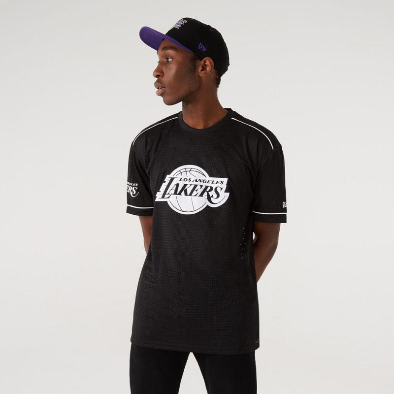 Maglia LA Lakers Team Logo Oversize New Era NEW ERA | -89515098 | 12720119BLK