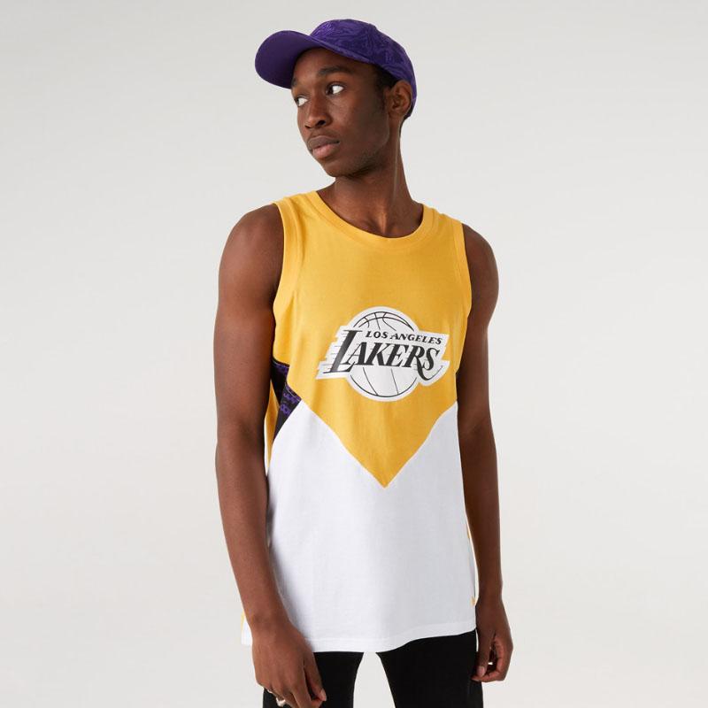 Canotta LA Lakers Oil Slick New Era NEW ERA   681207635   12720123TRPWHI
