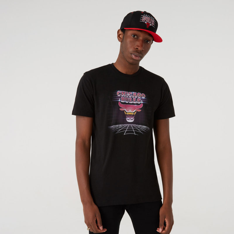 Maglia Chicago Bulls Futuristic Graphic New Era NEW ERA   -89515098   12720131BLK