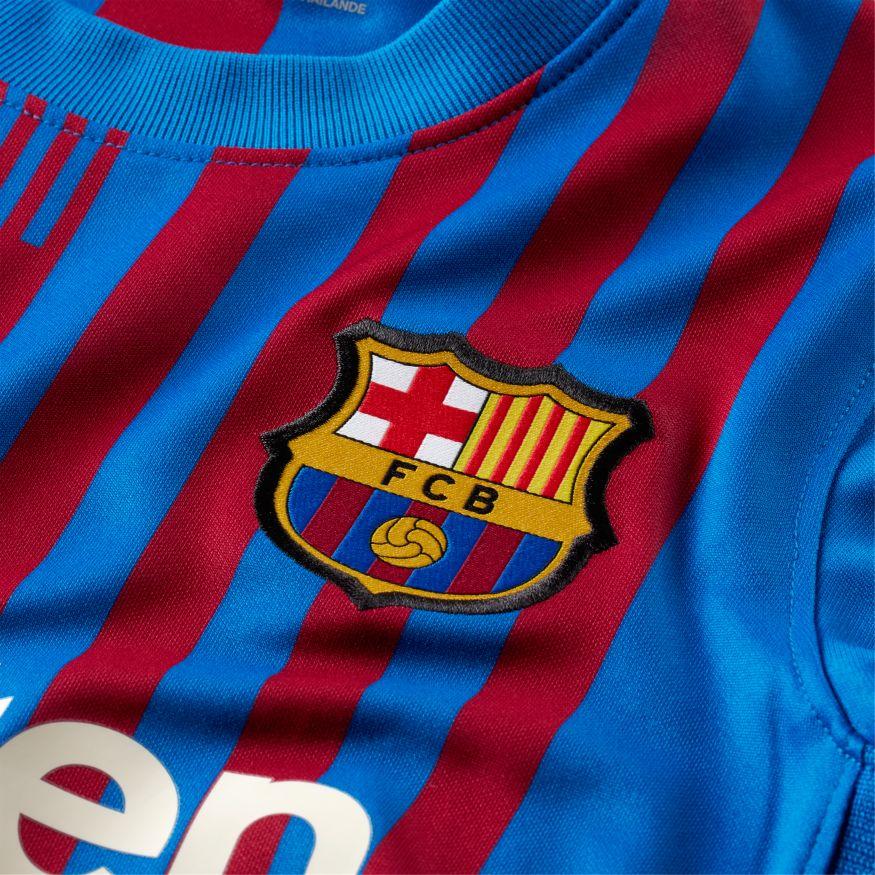 Maglia da bambino/ragazzo Barcelona Stadium Home 2021/22 Nike NIKE PERFORMANCE   270000021   CV8222428